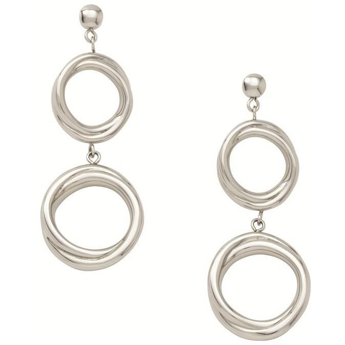 orecchini donna gioielli Fossil JF86503040