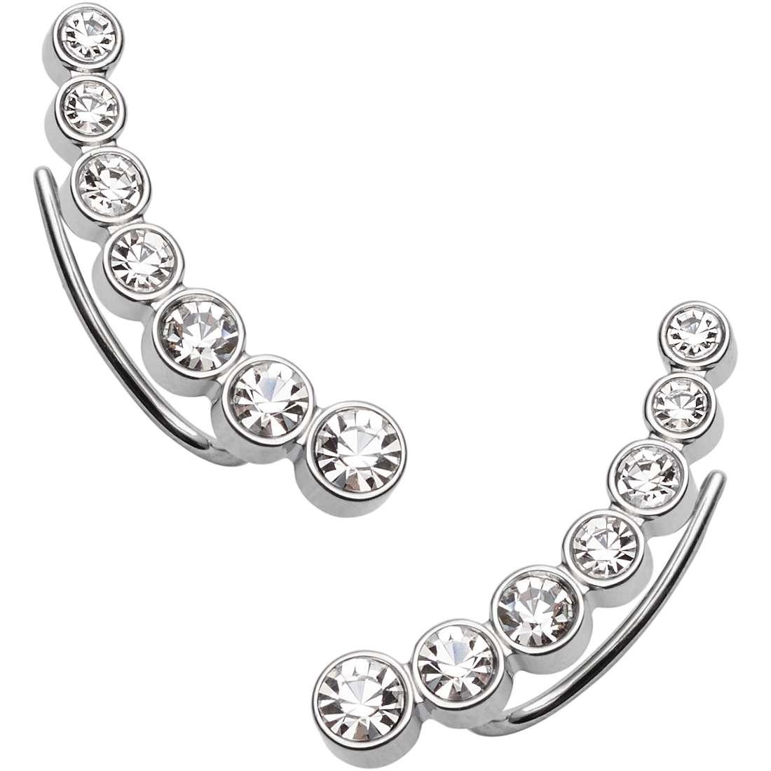 orecchini donna gioielli Fossil Vintage Glitz JF02317040