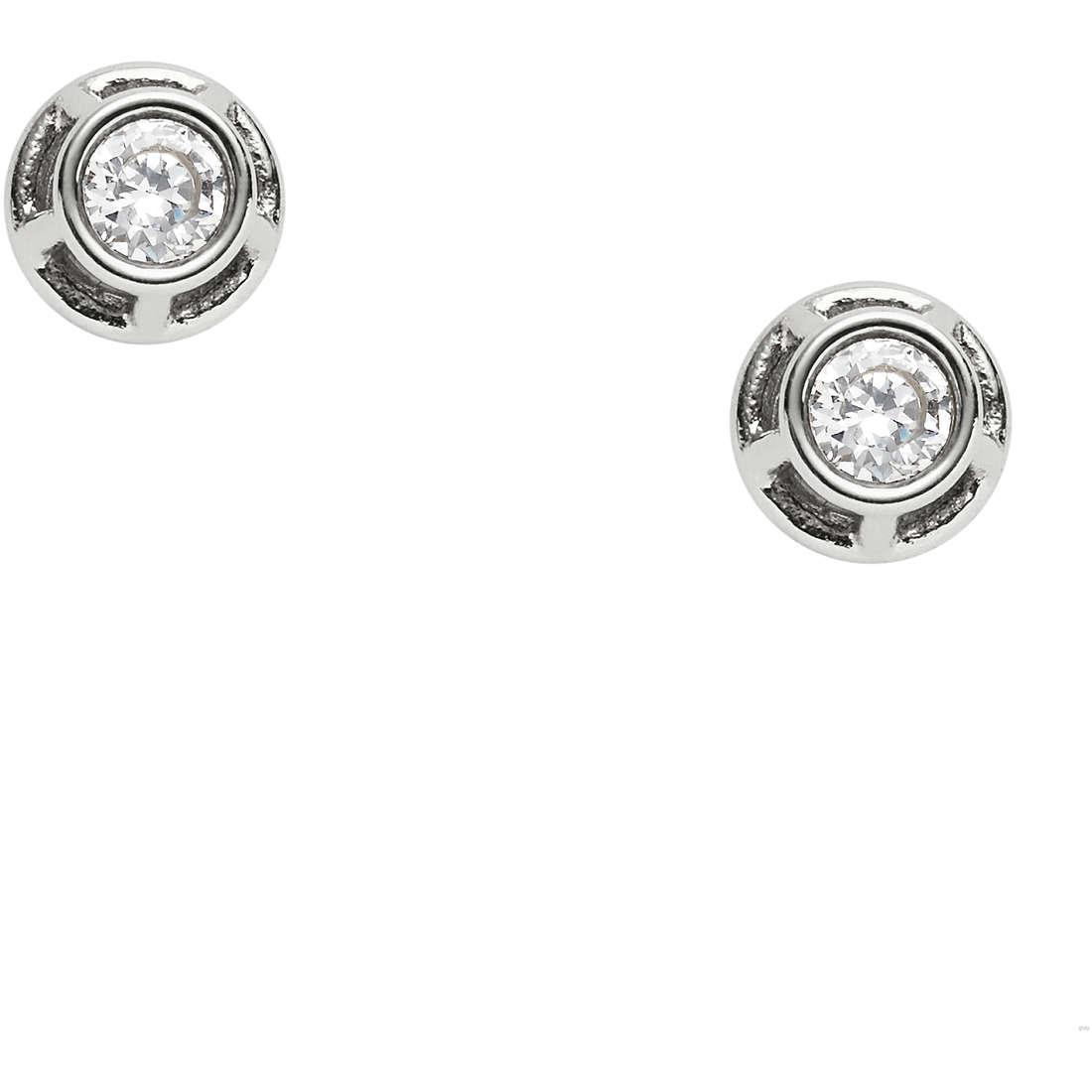 orecchini donna gioielli Fossil Vintage Iconic JF02411040