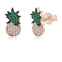 orecchini donna gioielli GioiaPura INS028OR301RS