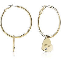 orecchini donna gioielli Guess Hoops I Did It Again UBE84054