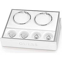 orecchini donna gioielli Guess Hoops I Did It Again UBS84004