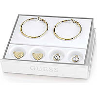 orecchini donna gioielli Guess Hoops I Did It Again UBS84005
