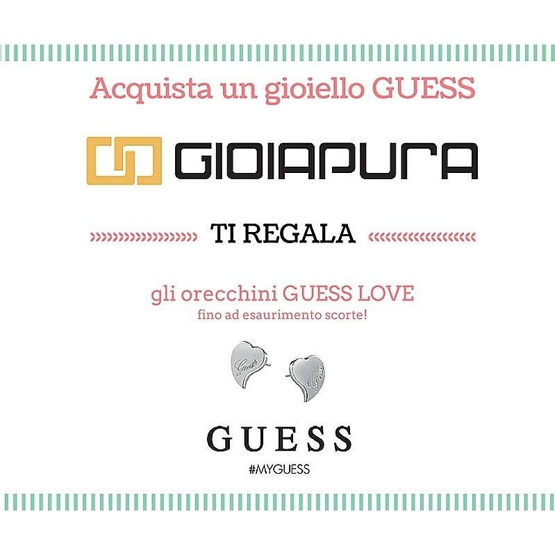 orecchini donna gioielli Guess Iconic UBE21510