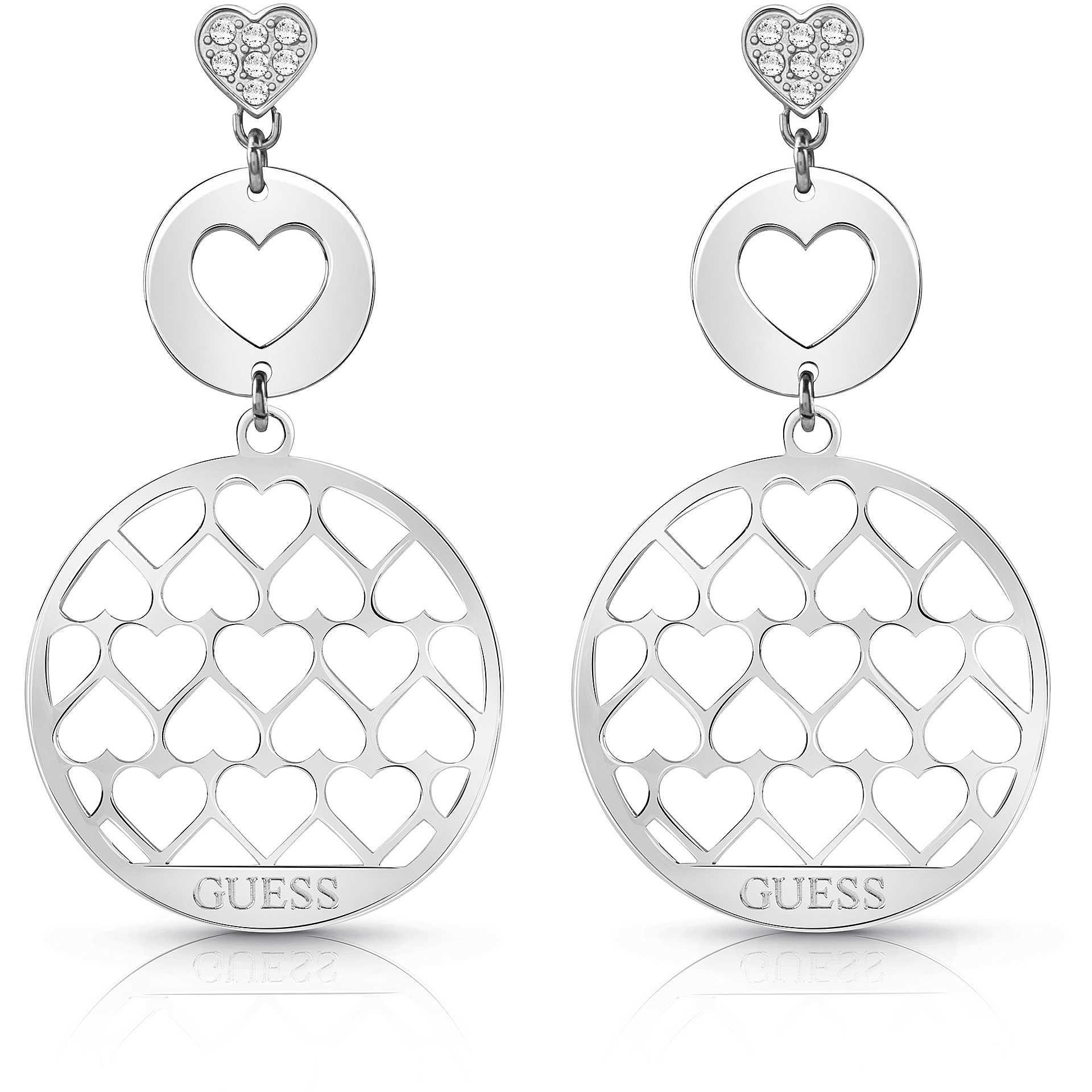 nuovi prezzi più bassi vendita a basso prezzo stile attraente orecchini donna gioielli Guess Jamila UBE85015