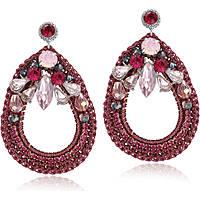 orecchini donna gioielli Luca Barra LBOK549
