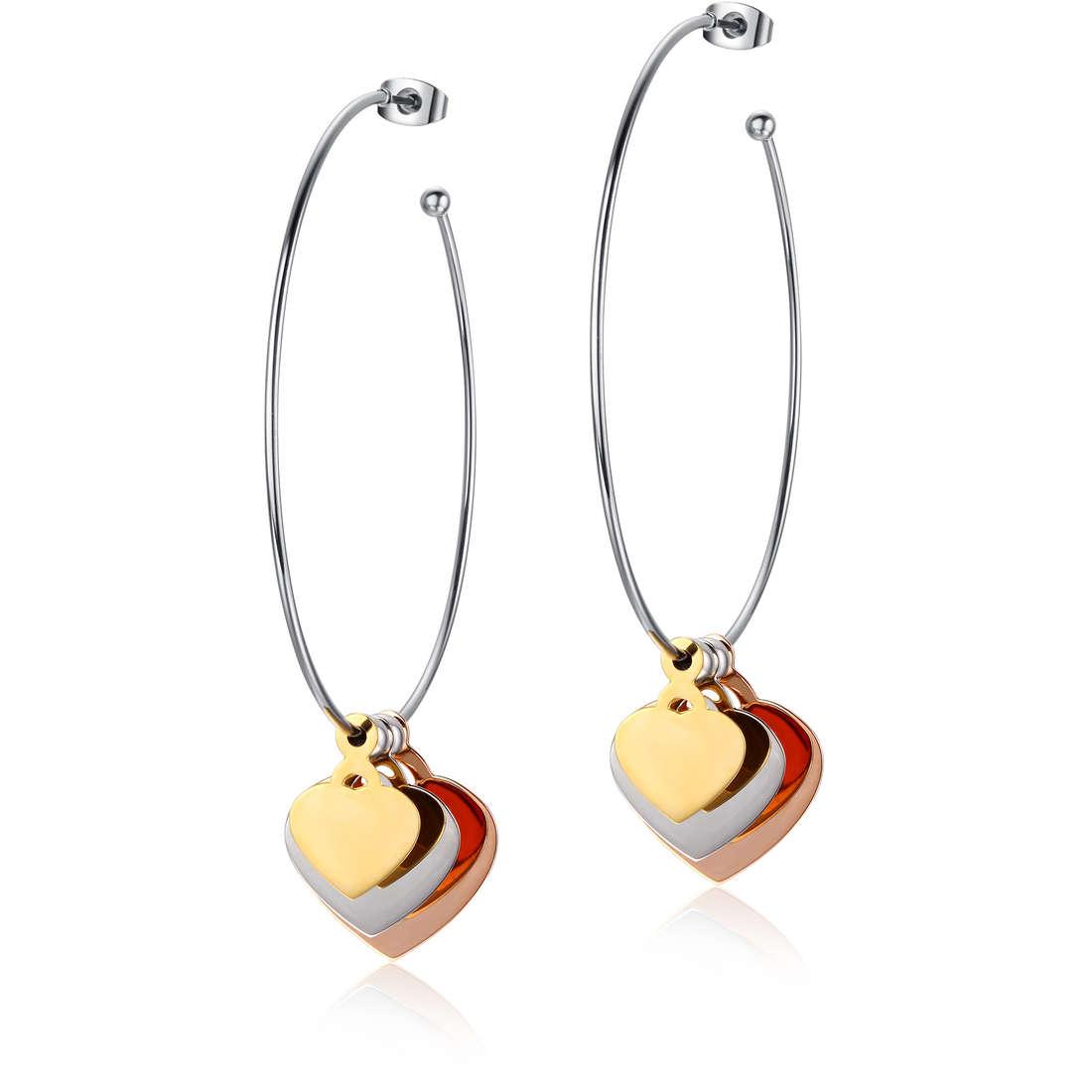 orecchini donna gioielli Luca Barra LBOK680