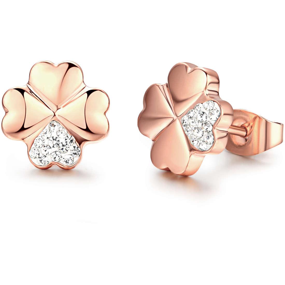 orecchini donna gioielli Luca Barra LBOK700