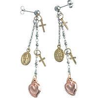 orecchini donna gioielli Marlù Sacro Cuore 13OR009