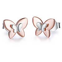 orecchini donna gioielli Melitea Farfalle MO165