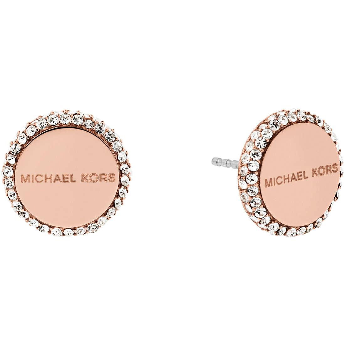 orecchini donna gioielli Michael Kors Logo MKJ6183791