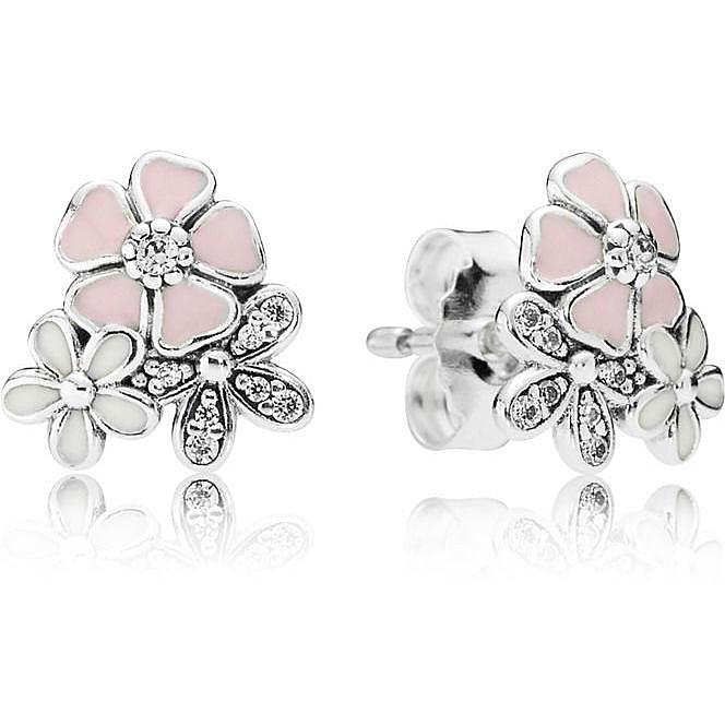 orecchini pandora donna rose