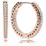 orecchini donna gioielli Pandora Cuori 286318cz
