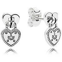 orecchini donna gioielli Pandora Sigillo D'Amore 296575