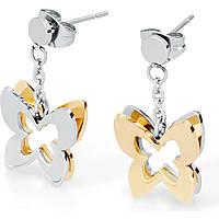 orecchini donna gioielli Sagapò Butterfly SBF21