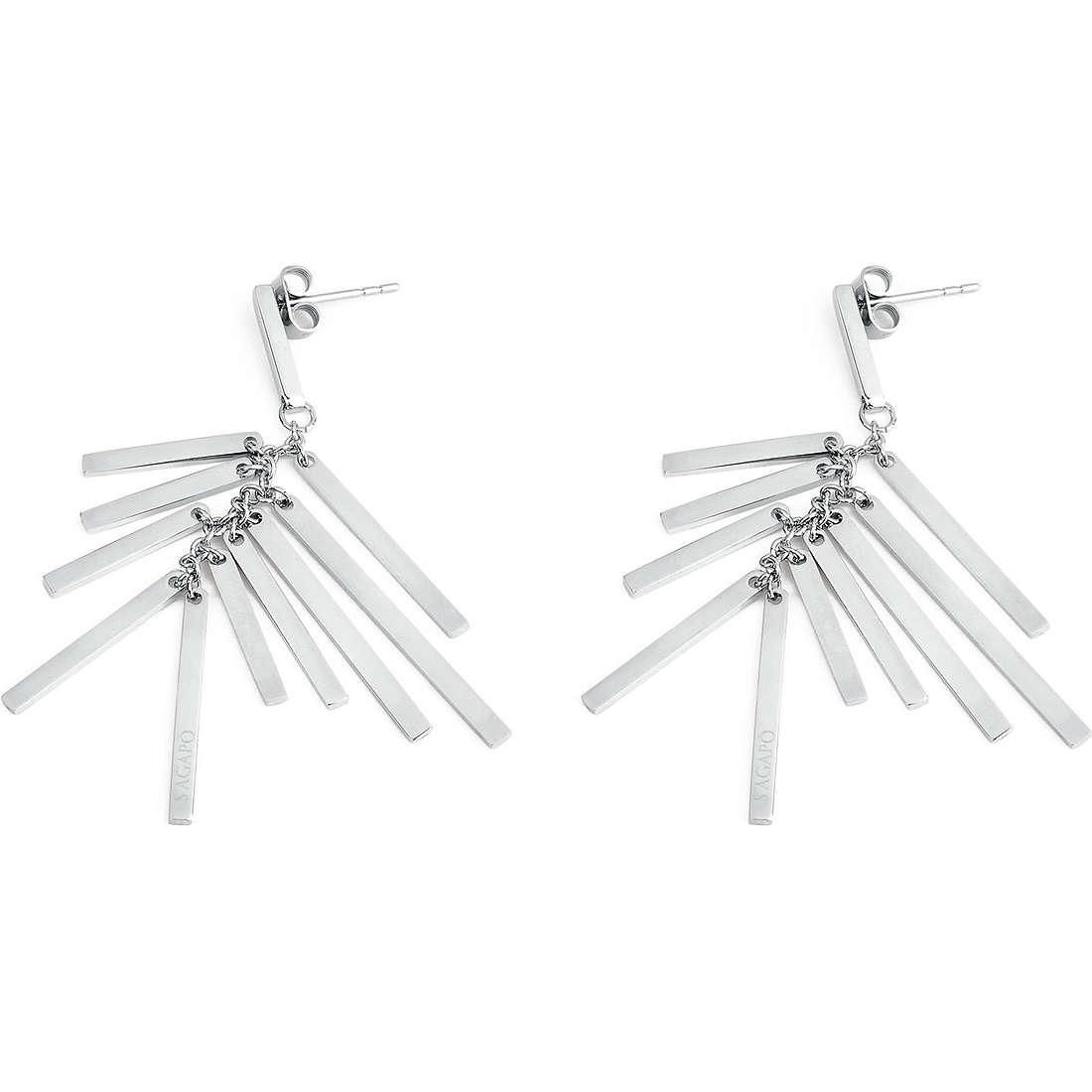 orecchini donna gioielli Sagapò Charleston SCH03