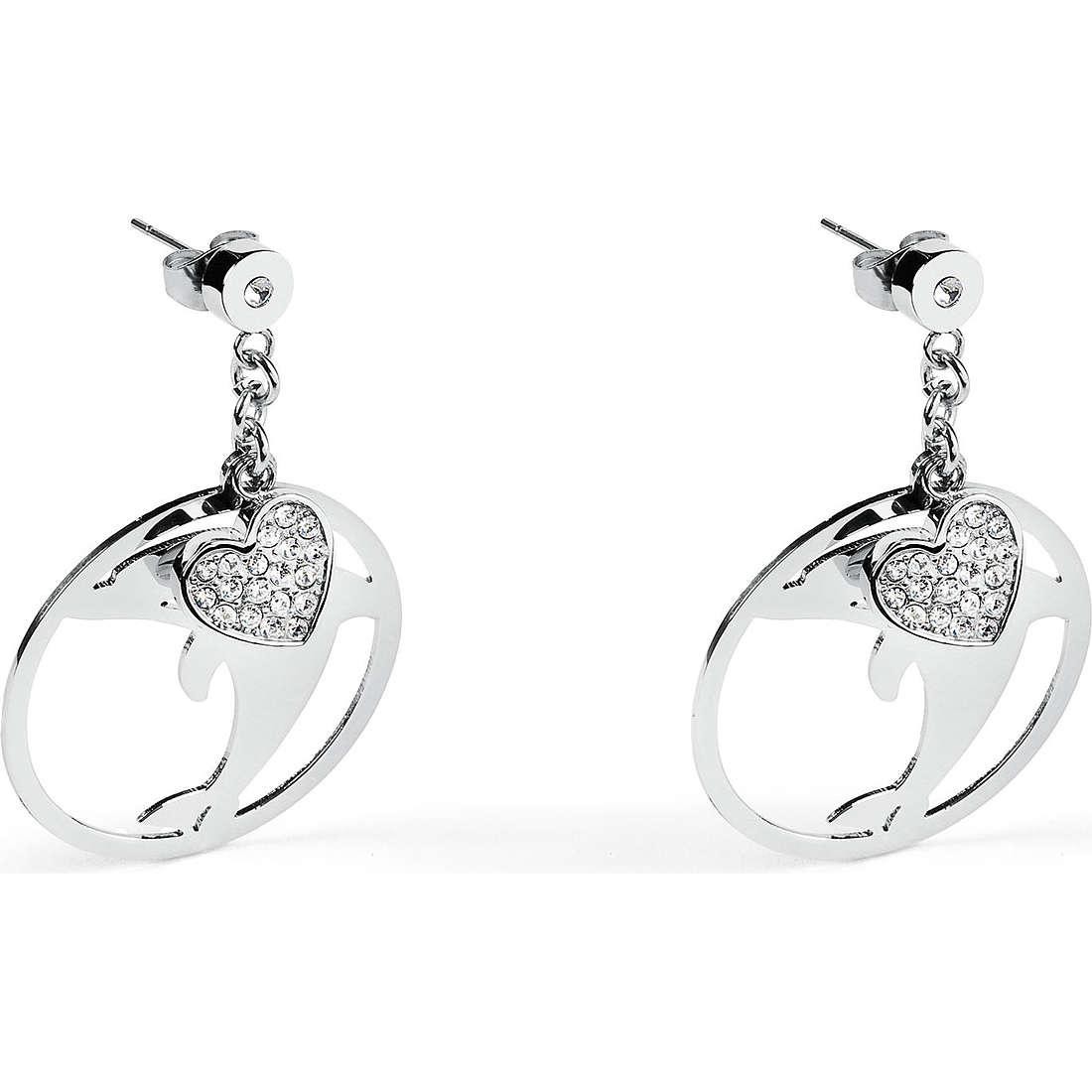 orecchini donna gioielli Sagapò Lucky Hoop SLH23