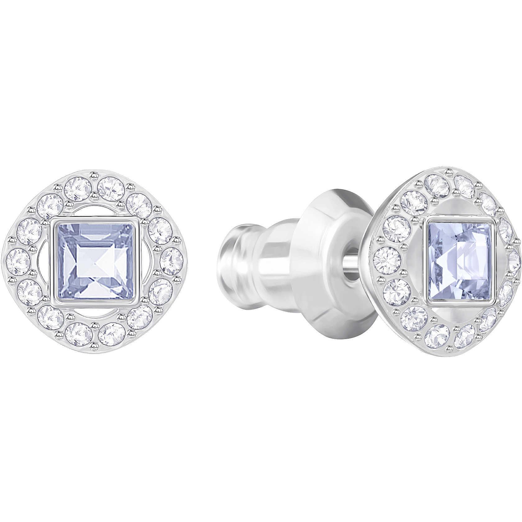 4a1f0a54b96a35 orecchini donna gioielli Swarovski Angelic Square 5352048 orecchini ...