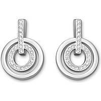 orecchini donna gioielli Swarovski Circle 5007750