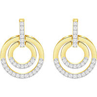 orecchini donna gioielli Swarovski Circle 5290188