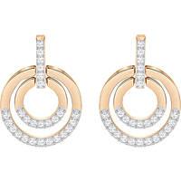 orecchini donna gioielli Swarovski Circle 5349204