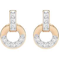 orecchini donna gioielli Swarovski Circle 5350653