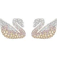 orecchini donna gioielli Swarovski Iconic Swan 5215037