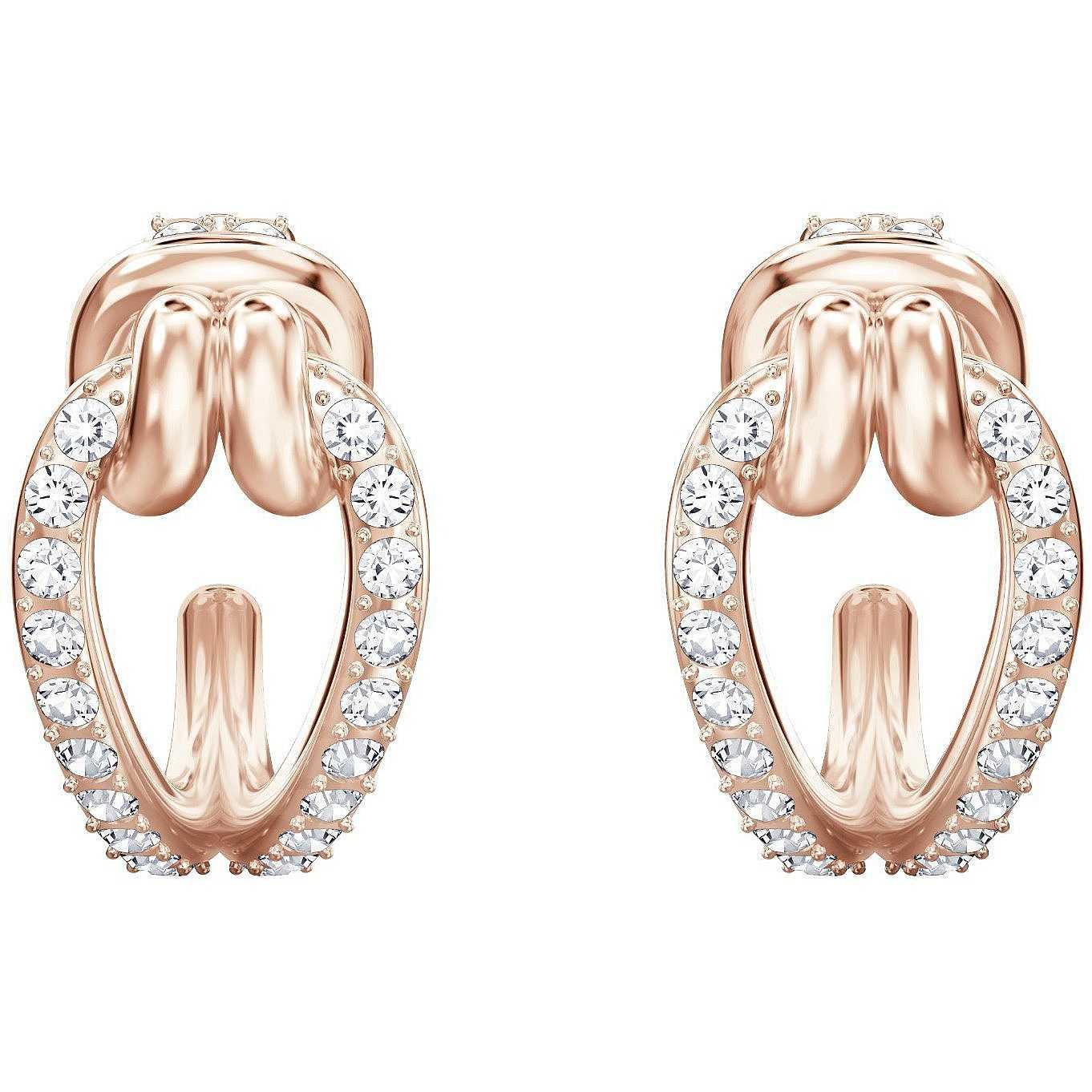 f95d92a6b1af85 orecchini donna gioielli Swarovski Lifelong 5392920 orecchini Swarovski