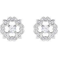 orecchini donna gioielli Swarovski Sparkling Dance Flower 5396227