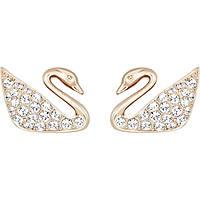 orecchini donna gioielli Swarovski Swan 5144289