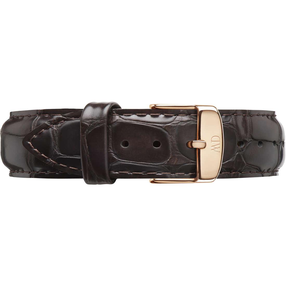 orologio cinturino di ricambio unisex Daniel Wellington Dapper York DW00200093