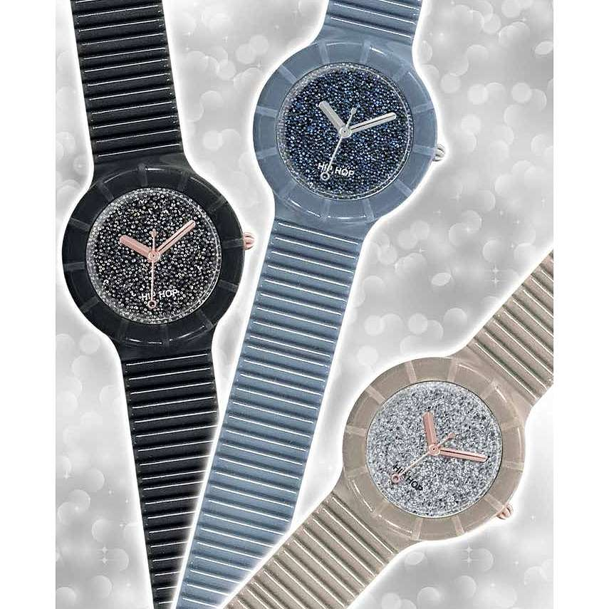 orologio cinturino orologio donna Hip Hop Glitz HBU0409 cinturini ...