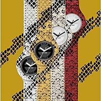 orologio cinturino orologio donna Hip Hop Leather HBU0412