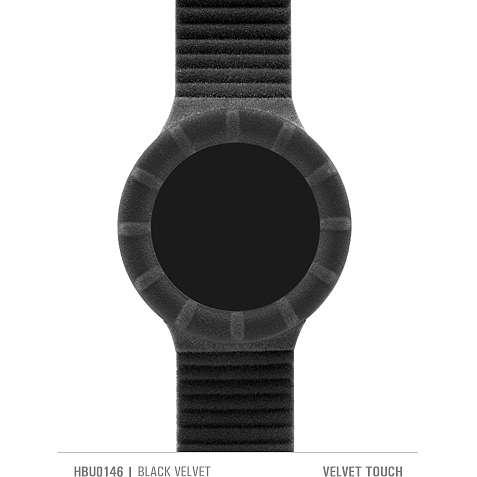 orologio cinturino orologio donna Hip Hop Velvet touch HBU0146