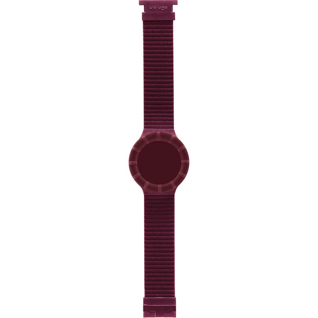 orologio cinturino orologio donna Hip Hop Velvet touch HBU0147