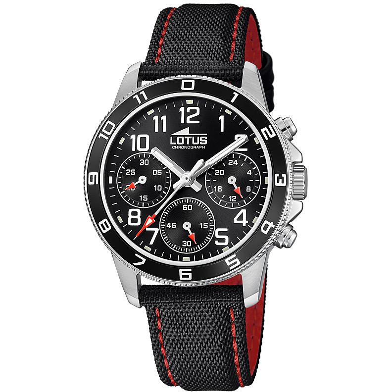 f4912113d19c orologio cronografo bambino Lotus Junior 18581 3 cronografi Lotus