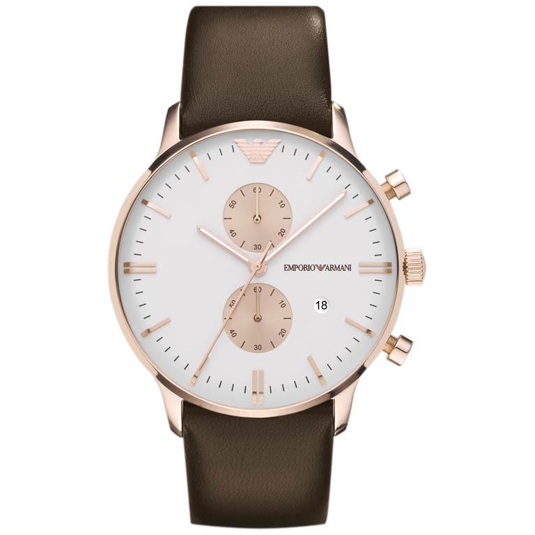 orologio cronografo donna Emporio Armani AR0398