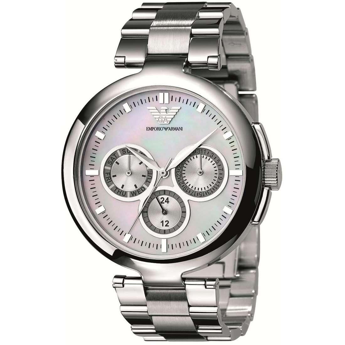 orologio cronografo donna Emporio Armani AR0734