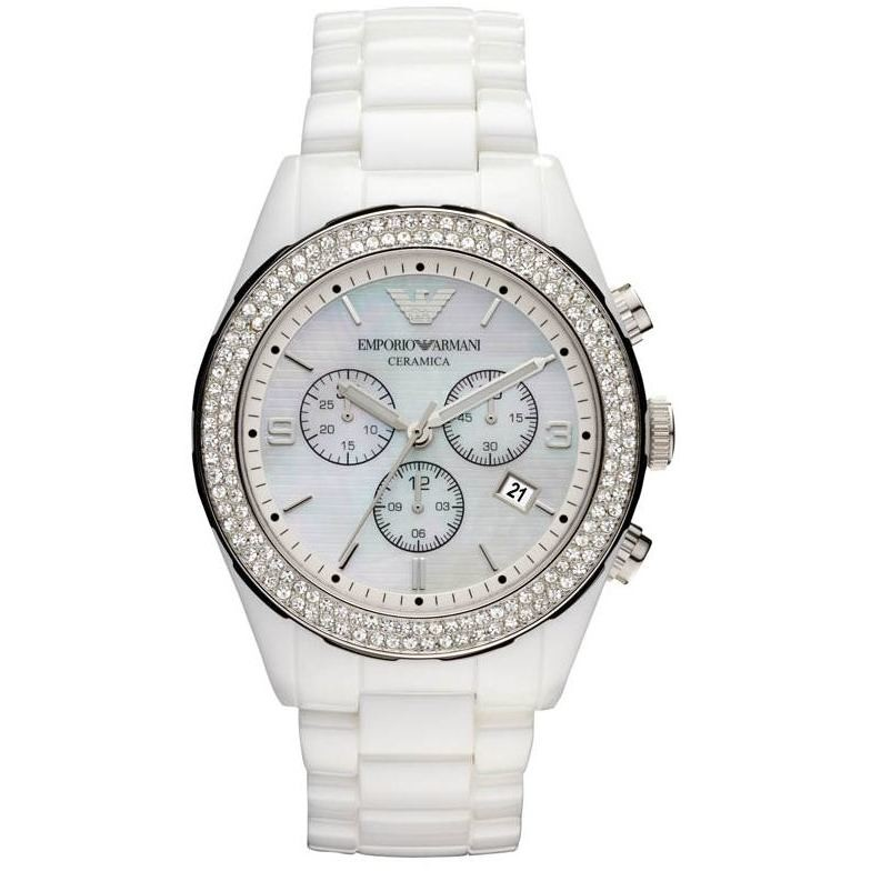 orologio cronografo donna Emporio Armani AR1456