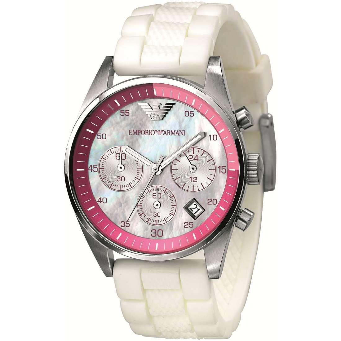 orologio cronografo donna Emporio Armani AR5883
