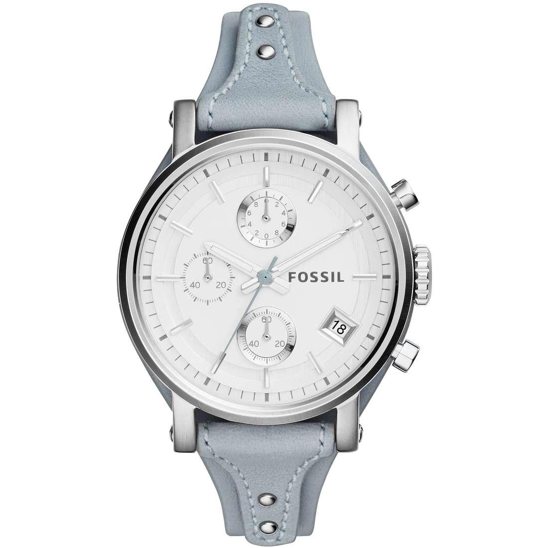 orologio cronografo donna Fossil Original Boyfriend ES3820