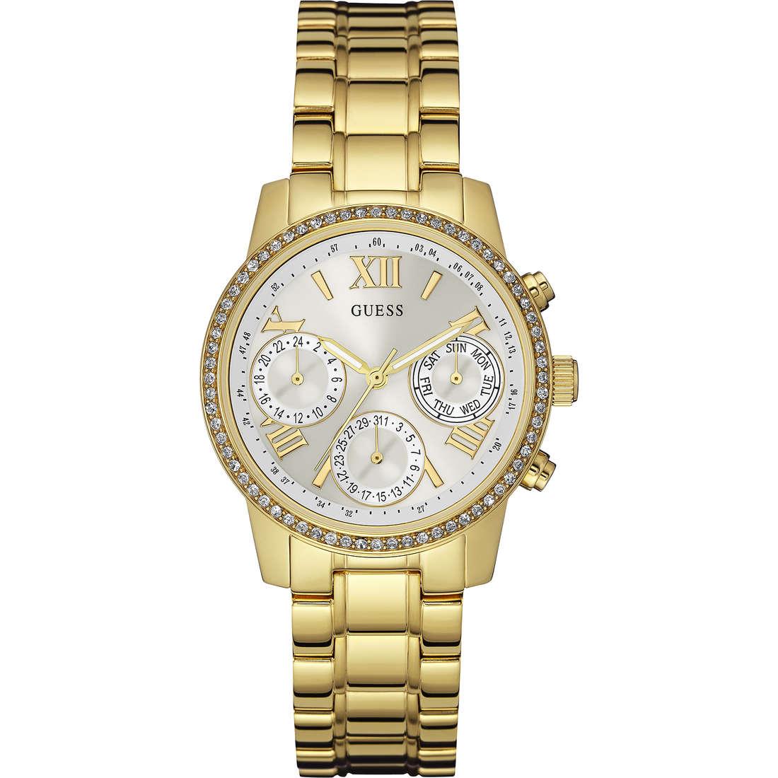 orologio cronografo donna Guess Mini Sunrise W0623L3