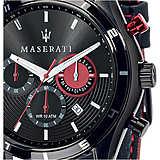 Orologio Cronografo R8871624002 Di Colore Nero Di Maserati Da Uomo Della Collezione Sorpasso R8871624002