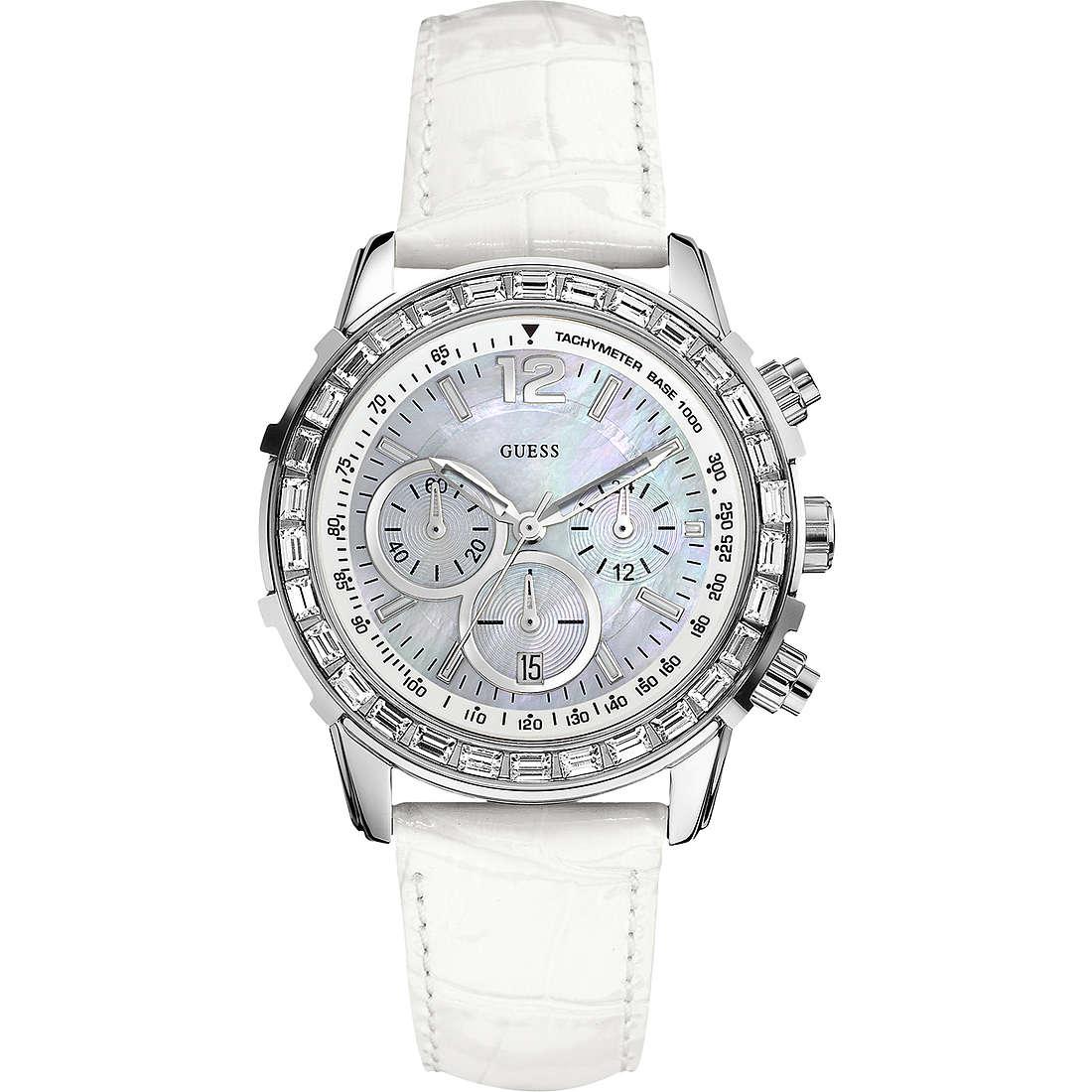 orologio cronografo unisex Guess W0017L1