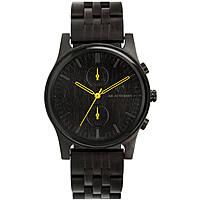 orologio cronografo uomo Ab Aeterno Black Forest A_BF_ENI_Y