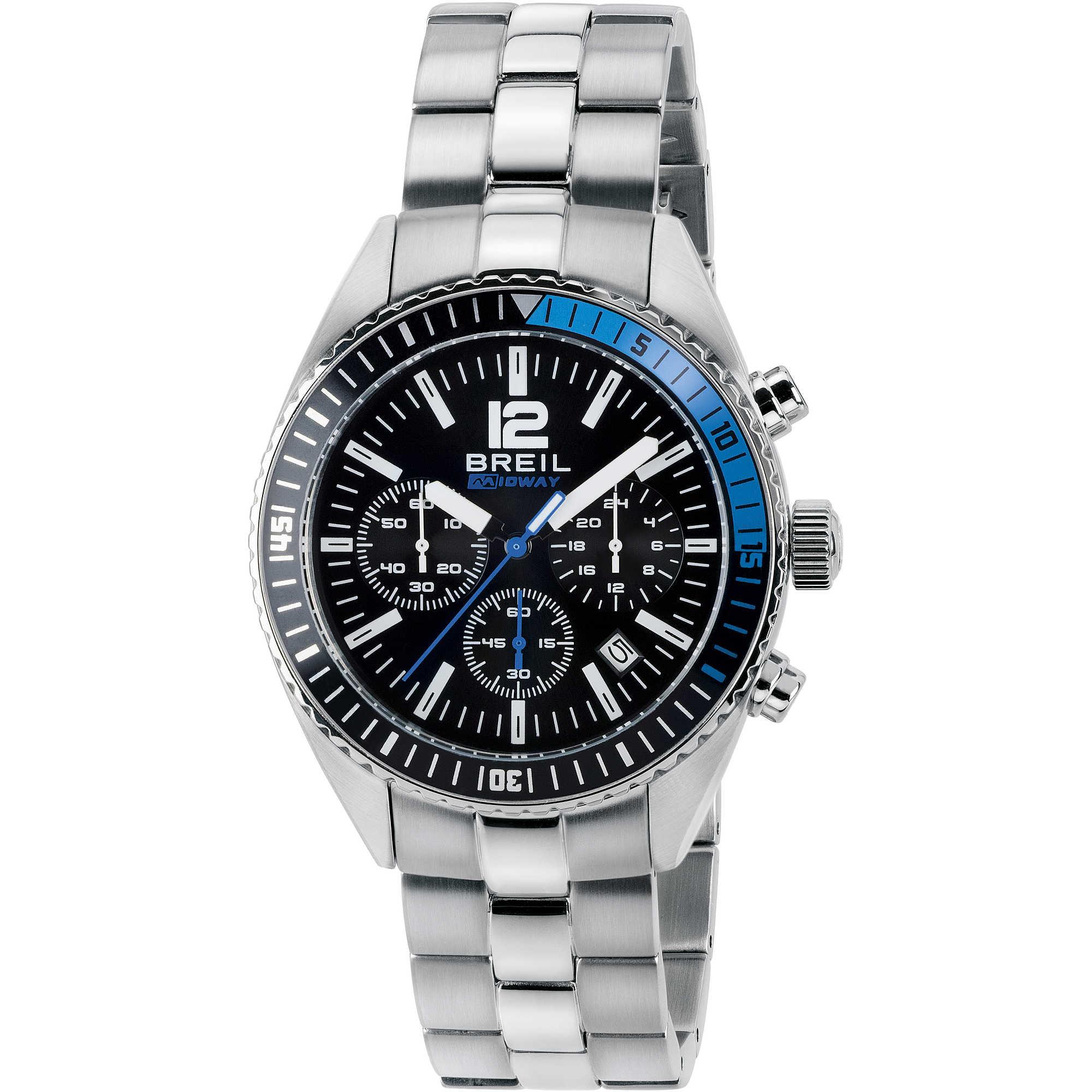 più recente 32990 5ff5a orologio cronografo uomo Breil Midway TW1633