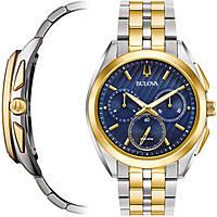 orologio cronografo uomo Bulova Curv 98A159