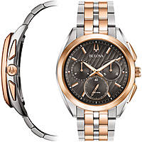 orologio cronografo uomo Bulova Curv 98A160