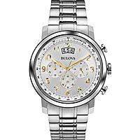 orologio cronografo uomo Bulova Dress 96B201