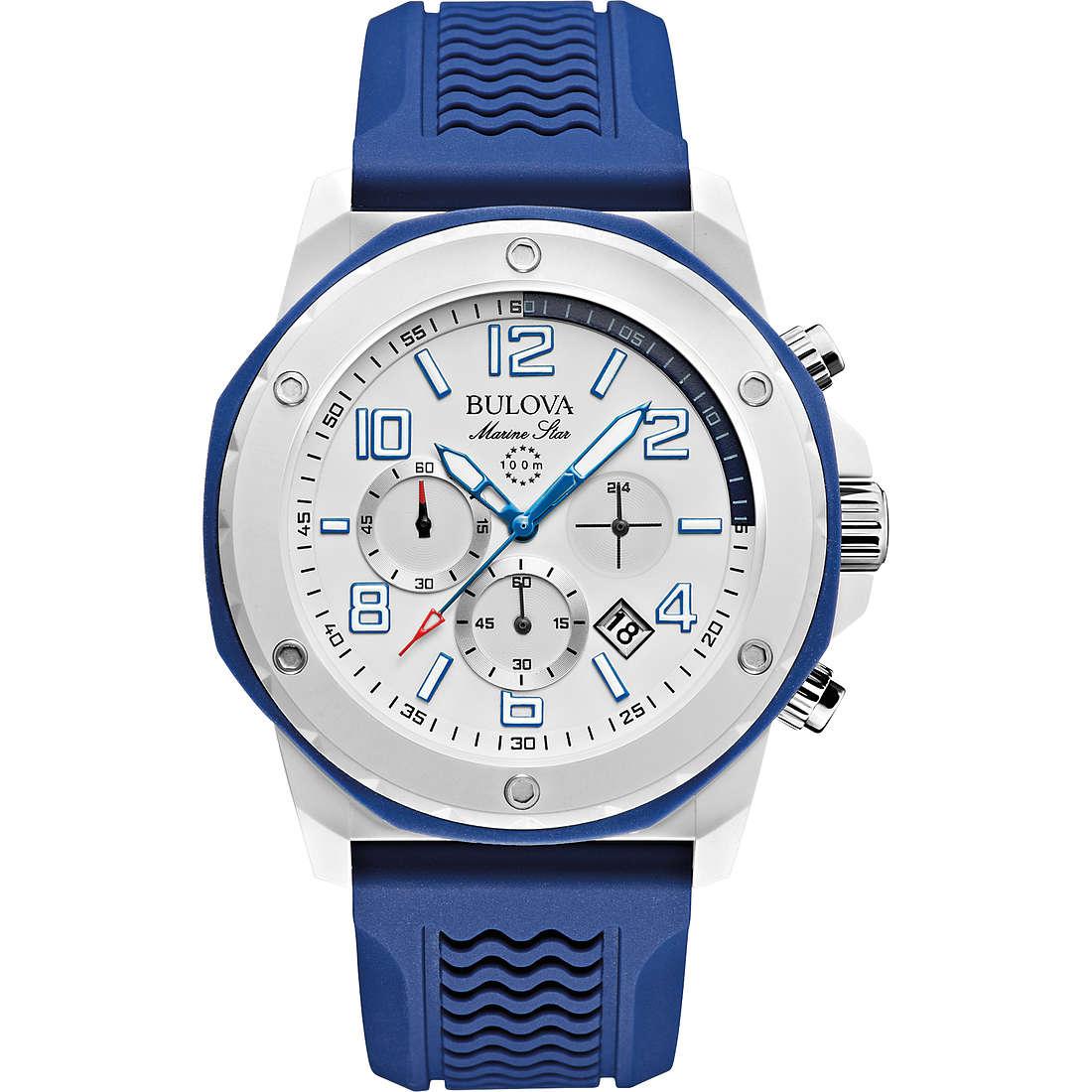 orologio cronografo uomo Bulova Marine Star 98B200
